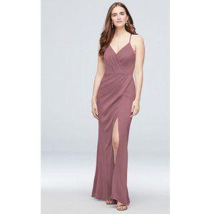 Crepe Satin Bridesmaid Dress (new)